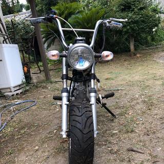 モンキー制作途中 - バイク