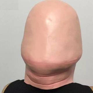 フェイスマスク ハゲ グッズ カツラ コスプレ お笑い 男性