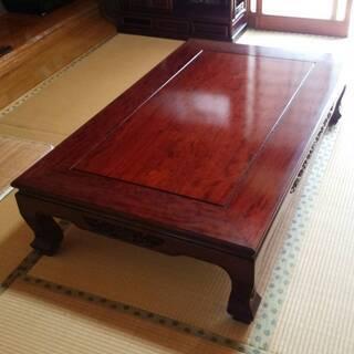 和家具 テーブル・茶箪笥