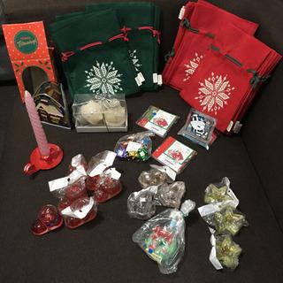 クリスマス キャンドル キャンドルスタンド ラッピング セット