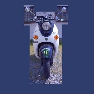 中古バイク YAMAHA VINO SA26J 4スト ビーノ ...