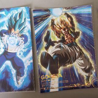 ドラゴンボールポスターカード