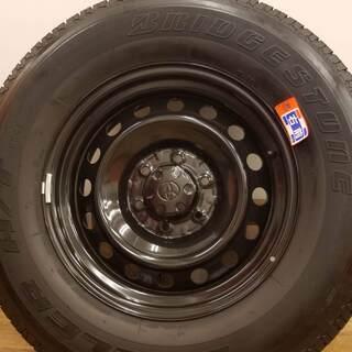 値下げしました【美品】タイヤホイール4本セット(265/70R17)FJクルーザー純正 − 東京都