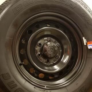 値下げしました【美品】タイヤホイール4本セット(265/70R17)FJクルーザー純正 - 売ります・あげます