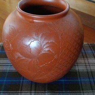 朱泥 花瓶