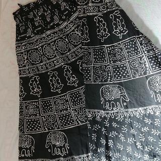ロング フレアースカート