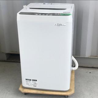 美品!シャープ 洗濯機 4.5kg 18年製◇風乾燥◇ES-GE...