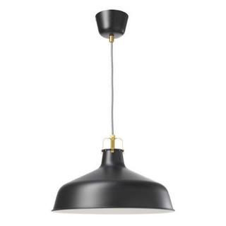 IKEA ペンダントライト RANARP 黒