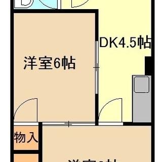 オススメ物件☆ 2人入居も可能オール洋室‼  301号室