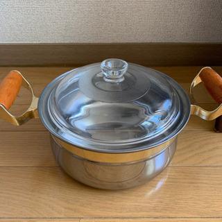 鍋、差し上げます。