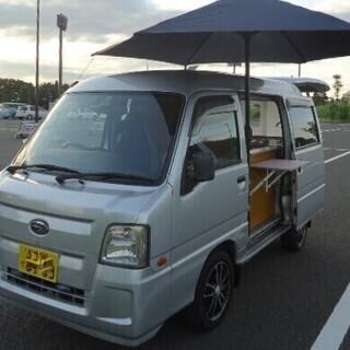 移動販売車 キッチンカー 総額60万円 22年スバル・サンバー ...