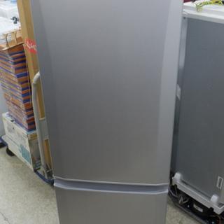 冷蔵庫 168L 2019年製 2ドア 三菱 MR-P17D シ...