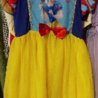 白雪姫ワンピース