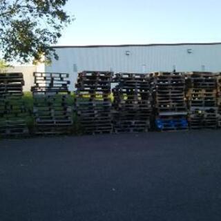 商談中、大量にあります。木パレット約150ほど
