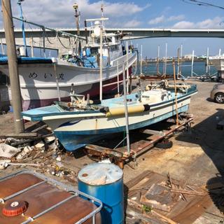漁船 船検付 近海釣り