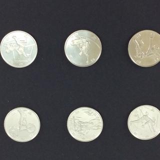 2020東京五輪オリパラ記念100円硬貨 第二次発行 6種セット