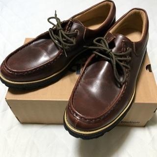 ダンロップ牛革シューズ - 靴/バッグ