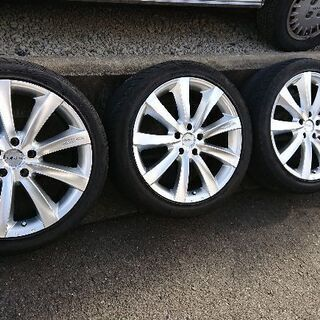 WEDS ZEA シルバー ホイール&タイヤ4本セット