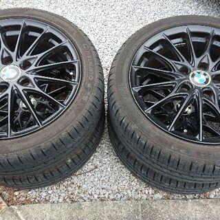 BMW 1シリーズ用 WORKホイール、タイヤセット