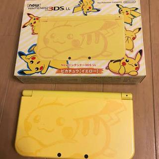 【値引可能!】New Nintendo 3DS LL ピカチュウ...