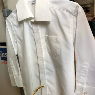 男の子 サイズ100 子ども用白シャツ 冠婚葬祭に
