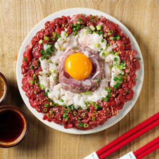 本日開催‼️#インスタ映え❗️#馬肉好き❣️肉寿司食べませんか〜🤤