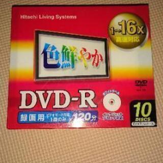 Hitachi DVD-R 未開封品❗