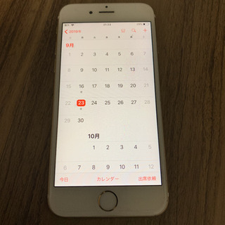 値下げしました‼️中古iPhone 6s au 64G シャンパ...