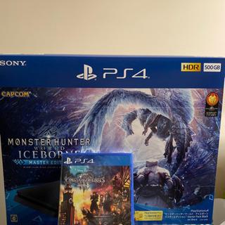 PS4 モンハンパック新品未開封+他 本日限定
