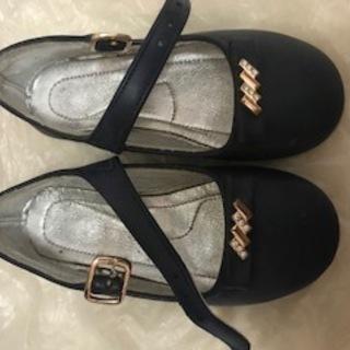 女の子レザー靴 値下げました。