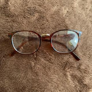度なし UVカットメガネ