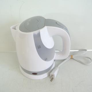 コンパクト 電気ケトル 1L グレー 株式会社ハック HAC1012