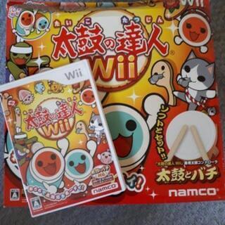 太鼓の達人Wiiソフト&太鼓とバチ