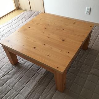 【お値下げ】家具調こたつ ヒーター 高さ調整可能