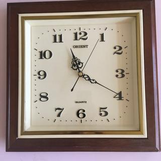 アンティーク掛け時計 ORIENT 実働品