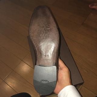 イタリア製の本革の靴
