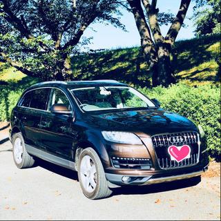 岐阜発!Audi Q7 2011y 超オシャレなブラウン 3.0...