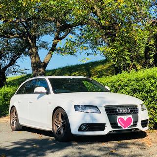 岐阜発!Audi A4 アバント 1.8T ホワイト Sライン ...