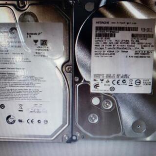 デスクトップHDD HITACHI 1TB Seagate…
