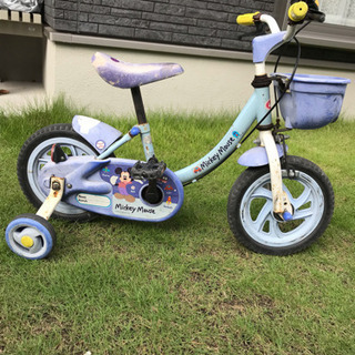 幼児用自転車 補助輪付き