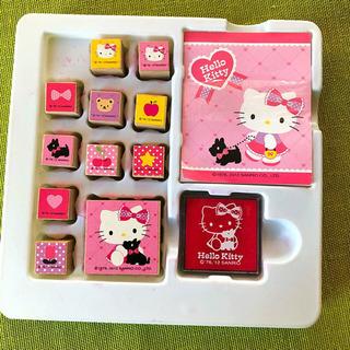 Hello Kitty スタンプ セット キティ はんこ San...