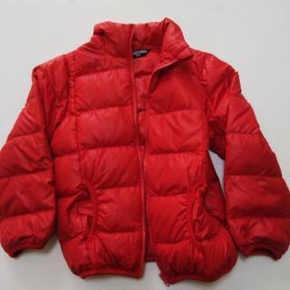 子供服 赤いダウン 120センチ 値下げ