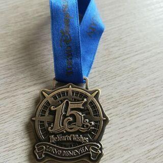 ディズニーシー15周年記念メダル