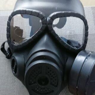 ガスマスク(サバゲー、コスプレ用)