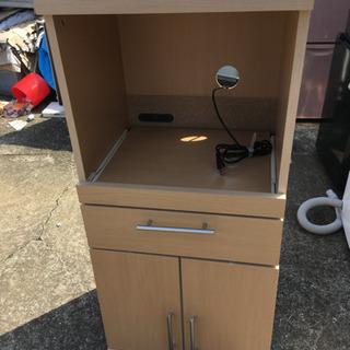 小型食器棚 中古品 使用頻度少なめ