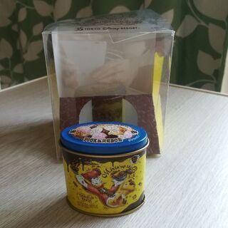 値下げ!ディズニー チョコクランチミニ缶