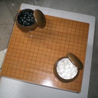 囲碁、碁盤セツト