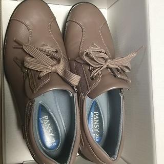 pansyスニーカー防水靴 新品  23.0センチEEE