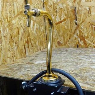 (4138-0)現状品 ドラフトタワー ゴールド ビールサーバー...