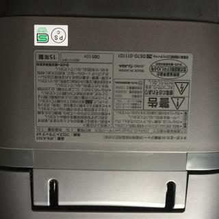 TIGER製炊飯器。2015年製造 - 家電